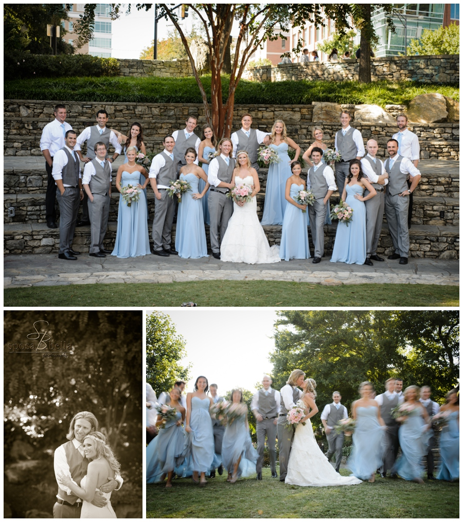 Sposa Bella Photography Sc Wedding Photographer Of The Year Dusty Blue And Charcoal Color Palette