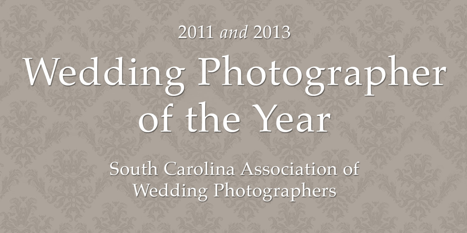 Sposa Bella Photography was honored to be awarded SC Wedding Photographer of the Year in both 2011 and 2013 by our peers from the South Carolina Association of Wedding Photographers. Our wedding photographer studio, based in Greenville, SC is frequently honored with many awards and accolades, regional and national publications. Wedding photographer and co-owner of Sposa Bella Photography, Craig Mahaffey won the prestigious award of Photographer of the Year in 2011. Wedding photographer and co-owner of Sposa Bella Photography, Lindsey Mahaffey won the prestigious award of Photographer of the Year in 2013.