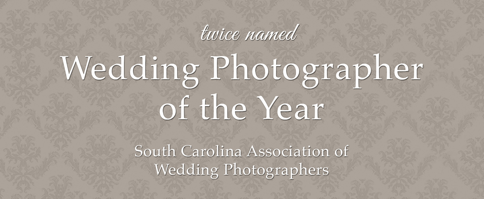 Sposa Bella Photography has twice been named Wedding Photographer of the Year by the South Carolina Association of Wedding Photographers.
