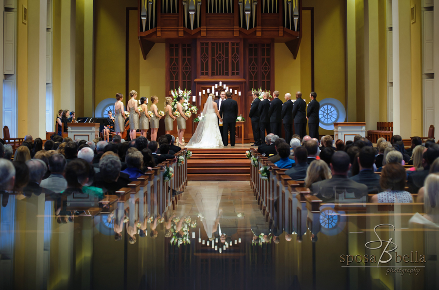 As photographers, we love Furman's Daniel Chapel for weddings.