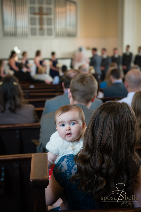 The wedding ceremony was full of babies and little children...so we had to capture a few images of them!