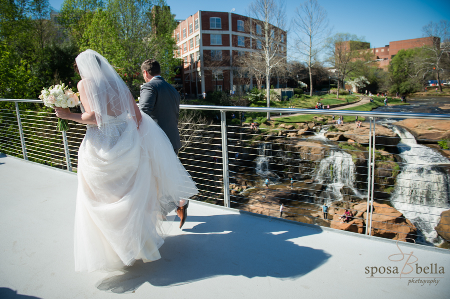 Falls Park and the Reedy River Falls, Greenville SC